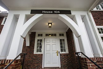 Entrance of House 104