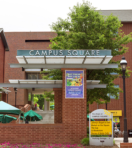 Photo of campus square
