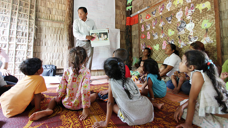 Caring for Cambodia educational program