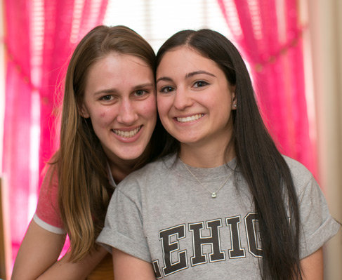 Two Lehigh students