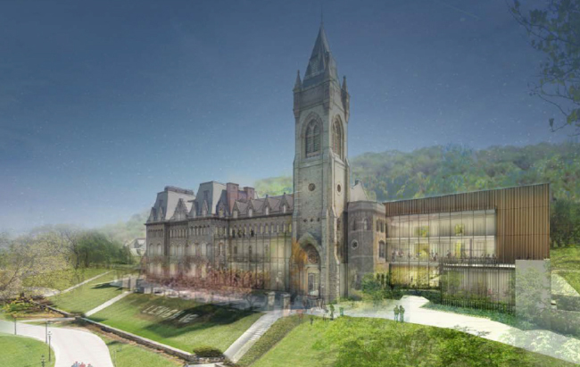 Illustration of future University Center renovations