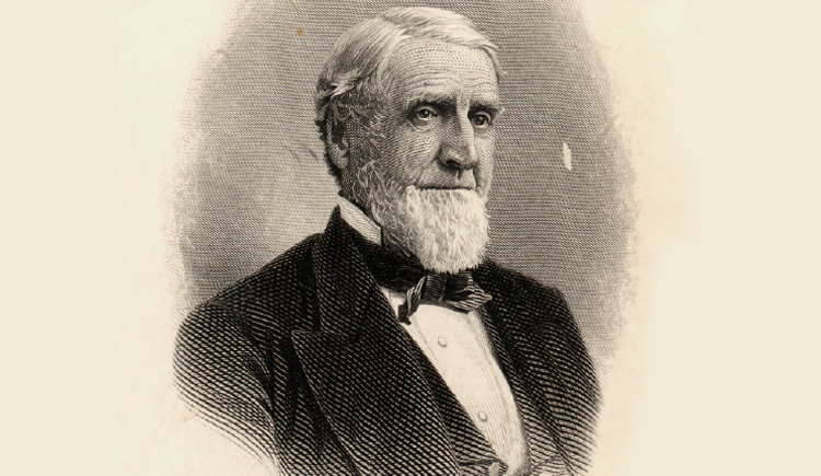 Lehigh University founder, Asa Packer