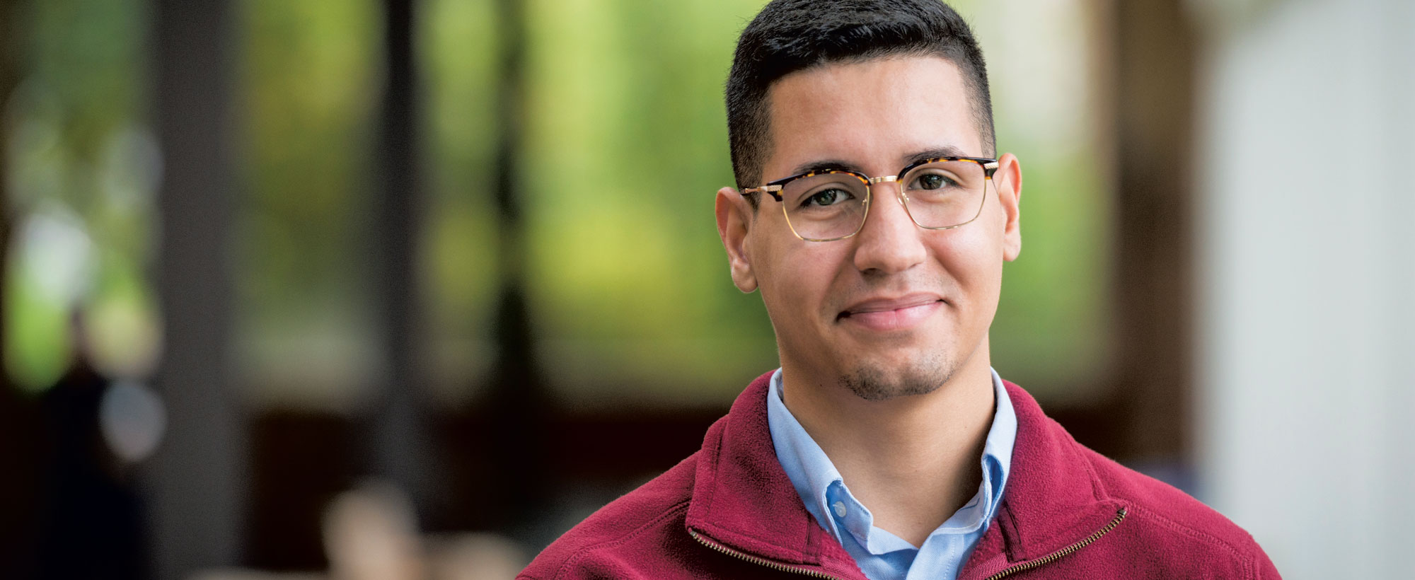 Phillip Hernandez '19 Vice President, ALPFA club, Past Tutor, America Reads, America Counts Work Study, Office of Economic Engagement Recipient of the Richard E. Disbrow Scholarship.