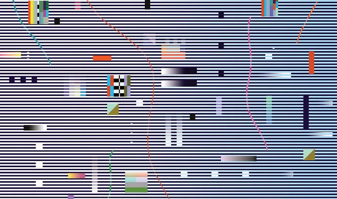 Illustration of colored blocks