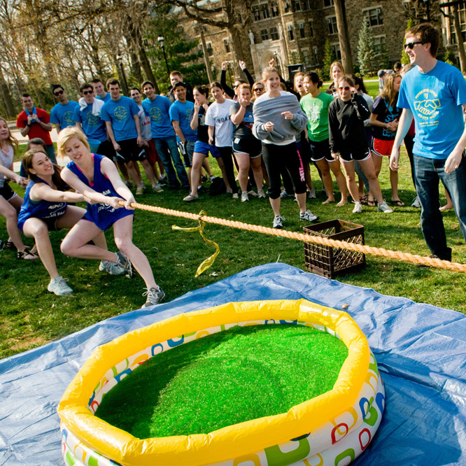 Lehigh University Greek Week Tug of War