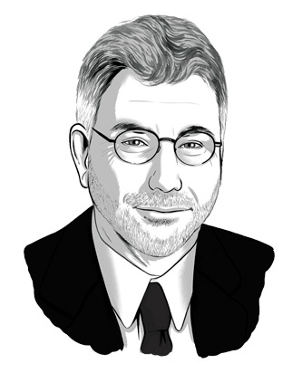 Illustration of Marty Baron