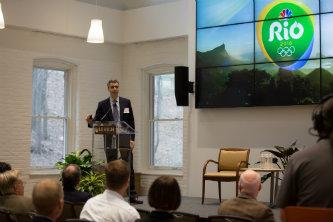 Gary Zenkel delivers keynote address.