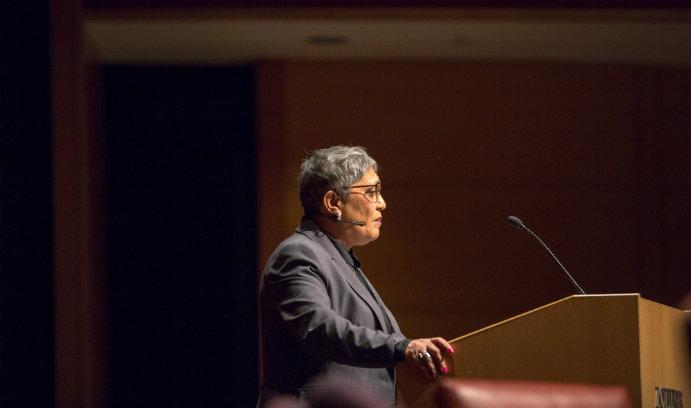 The Rev. Sharon Washington Risher addresses the process of forgiveness in MLK talk