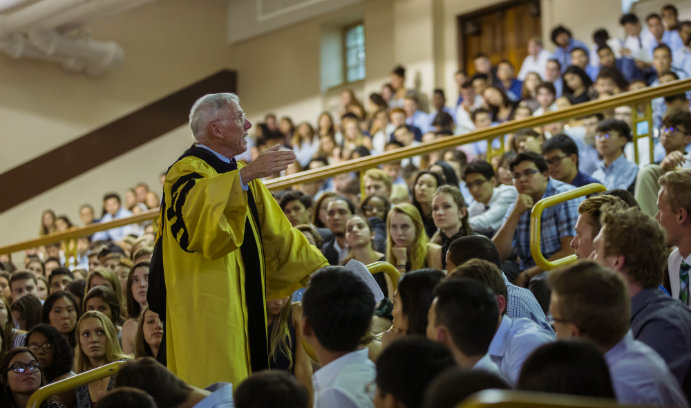 Convocation kicks off academic year