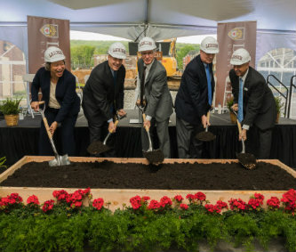 SouthSide Commons groundbreaking