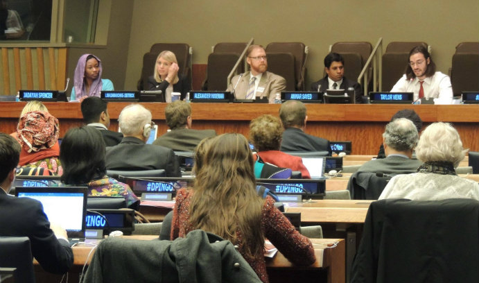 COE Profs Participate in UN Briefing on Education