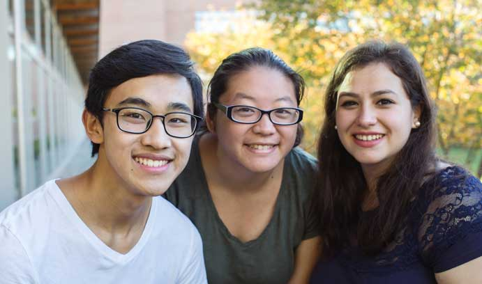 Leaders of Lehigh University first-generation student club.
