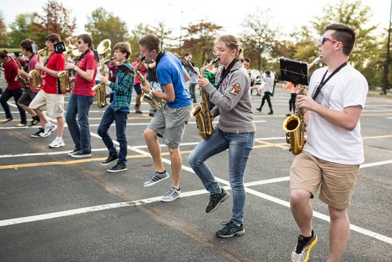The marching 97 issue at the lehigh university