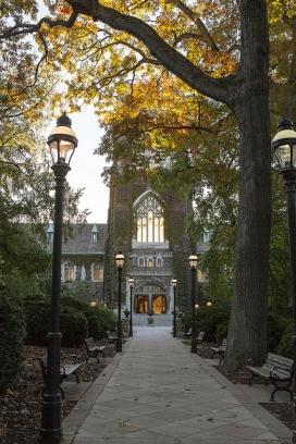 Alumni Memorial walkway