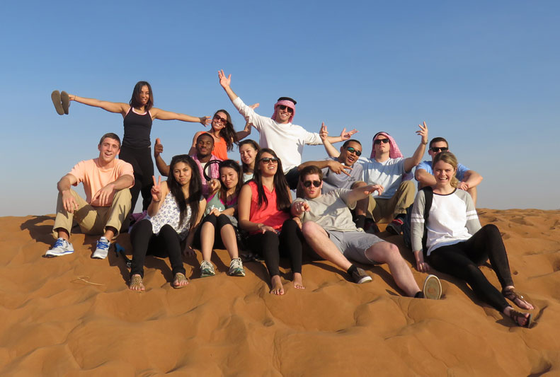 Lehigh Students study abroad