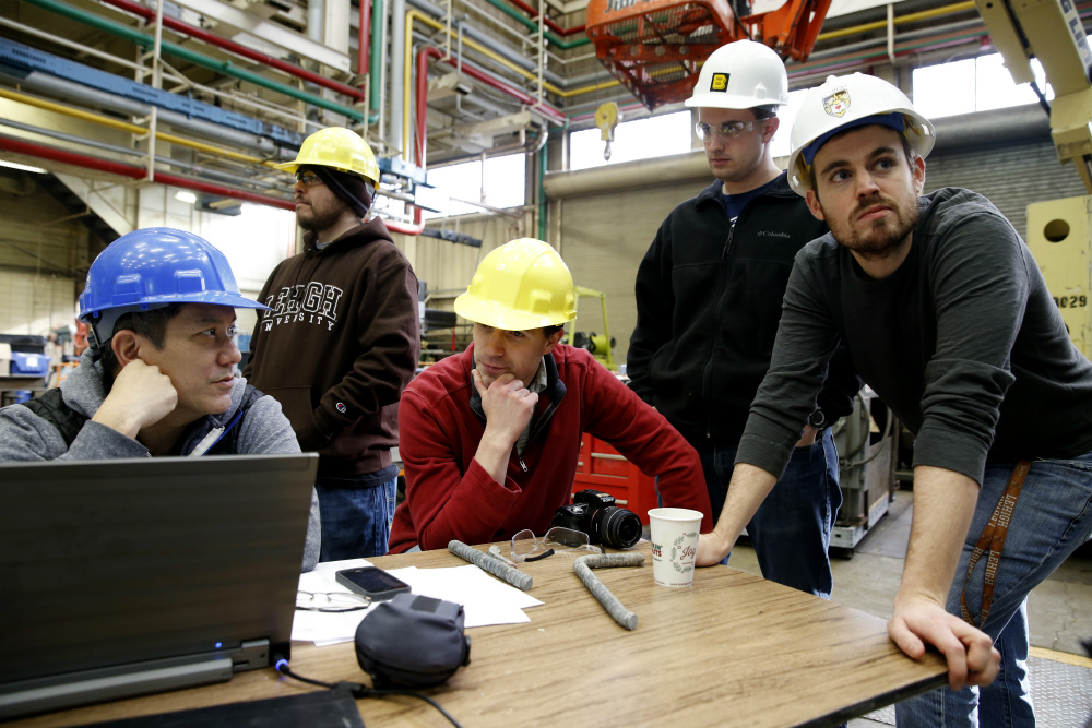Researchers at Lehigh's ATLSS Engineering Research Center