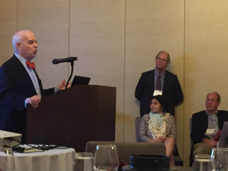 Alton Romig delivers plenary address at Lehigh University convergence conference