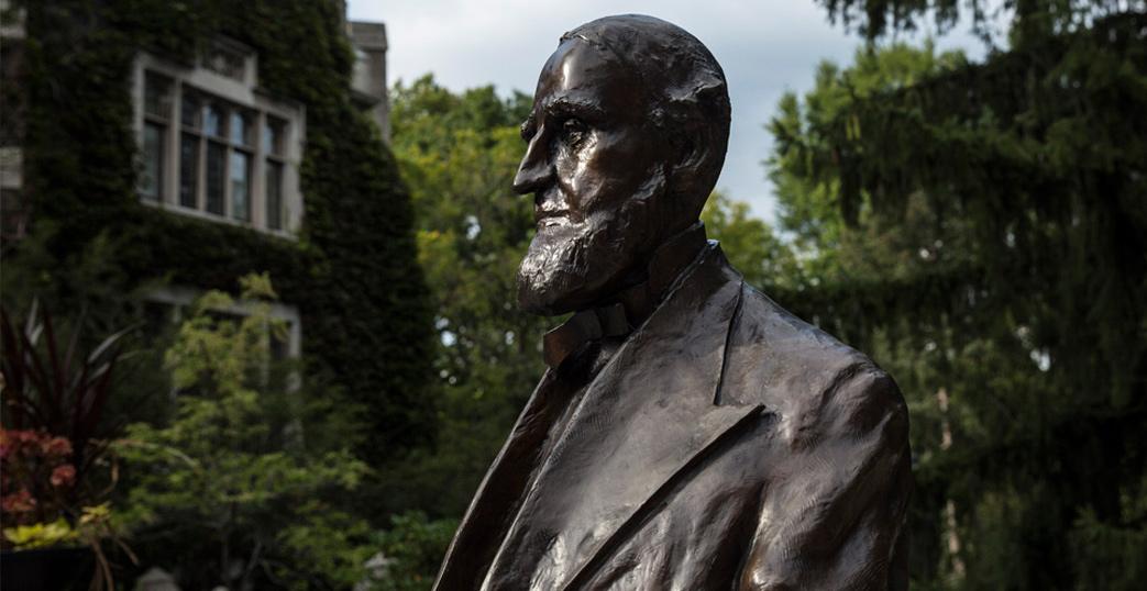 Asa Packer statue