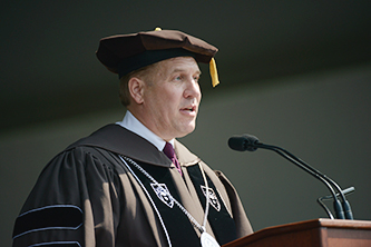 Interim President Kevin L. Clayton
