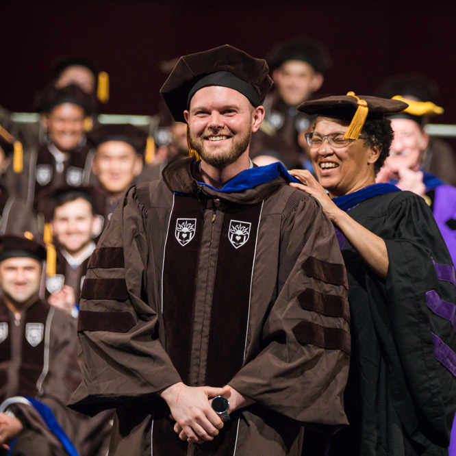 Doctoral Hooding Commencement 2018