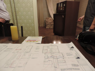 Hatch House blueprints