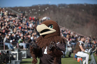 Clutch, Lehigh's mountain hawk mascot