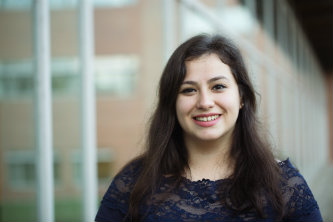 Lehigh University first-generation student Jocelin Gregorio