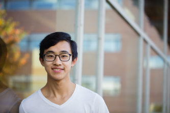 Lehigh University first-generation student Kevin Ly