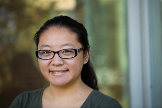Lehigh University first-generation student Sydney Yang