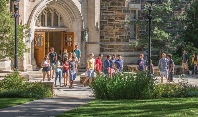signaling behavior in college admissions