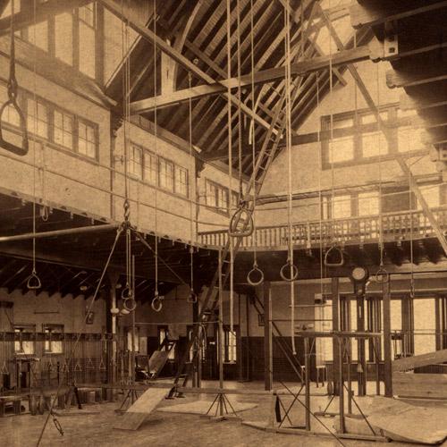 Lehigh's first gymnasium