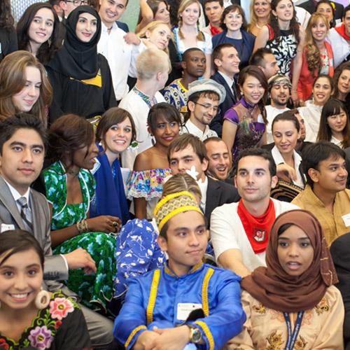 Global village students