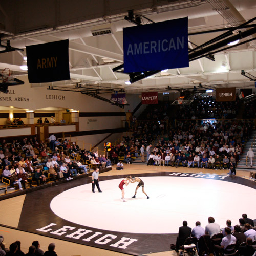 Wrestling in Grace Hall