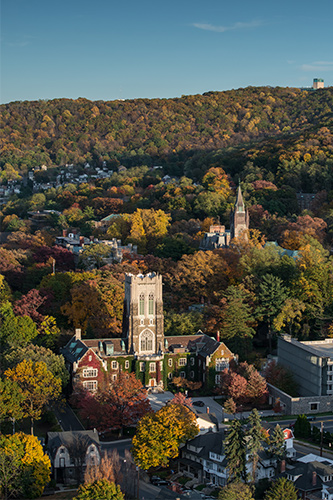 Aerial View of Lehigh University
