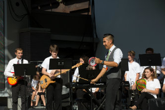Student musicians perform at Kennedy Center event in Bethlehem, PA