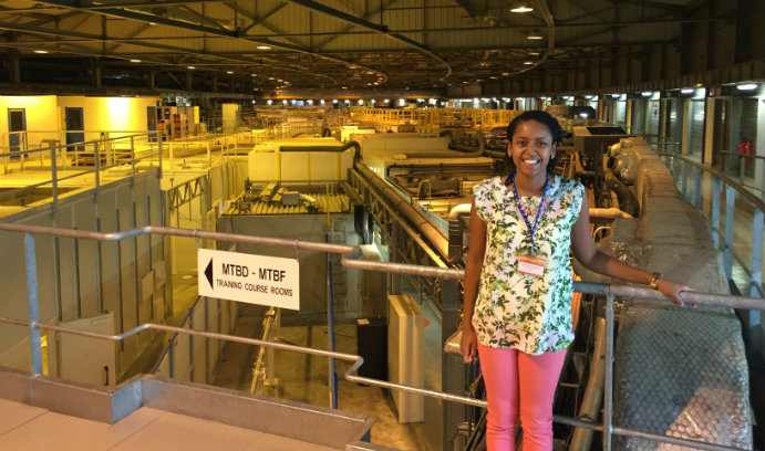 Krystle McLaughlin, professor of practice in Lehigh's department of biological sciences, presented at the the first African Light Source Conference and Workshop at the European Synchrotron Radiation Facility (ESRF) in Grenoble, France.