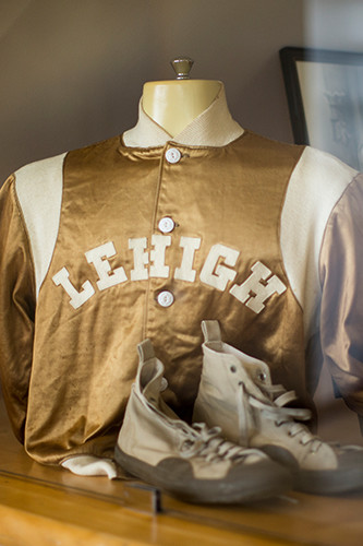 Lehigh vintage wrestling uniform