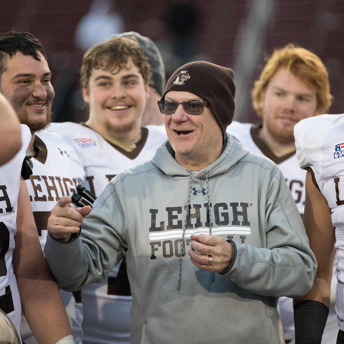 Lehigh football coach Andy Coen