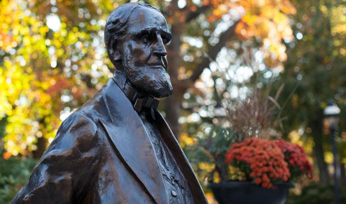 Statue of Asa Packer