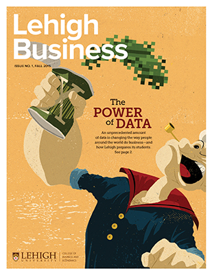 Lehigh Business cover Premier issue