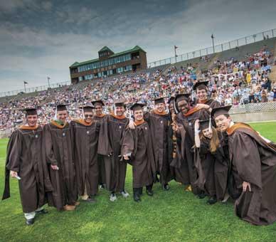 Lehigh graduation