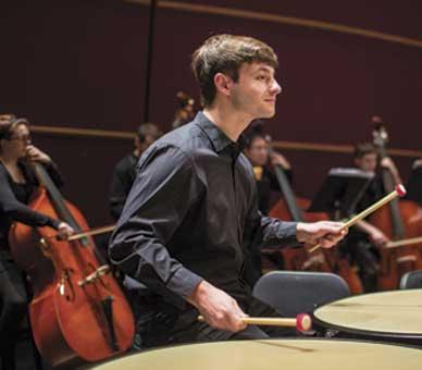Lehigh student musician