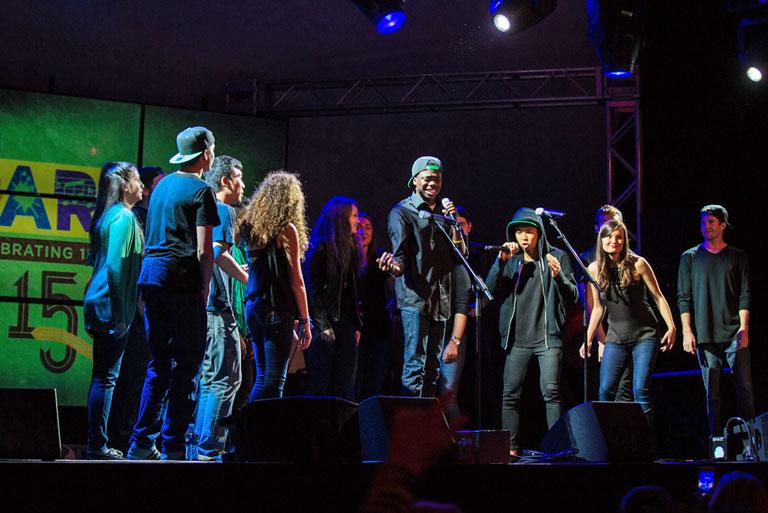 Vocalpalooza student talent show