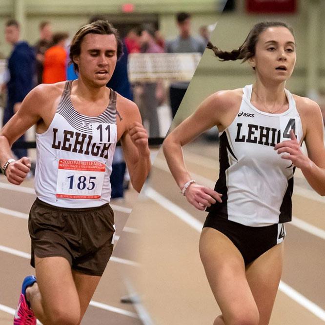 LehighUniversity-Cross Country Runners-Madison Zaun-Micheal Mitchell