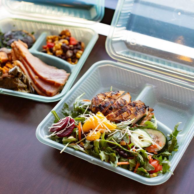 Lehigh University Dining Eco-friendly Containers