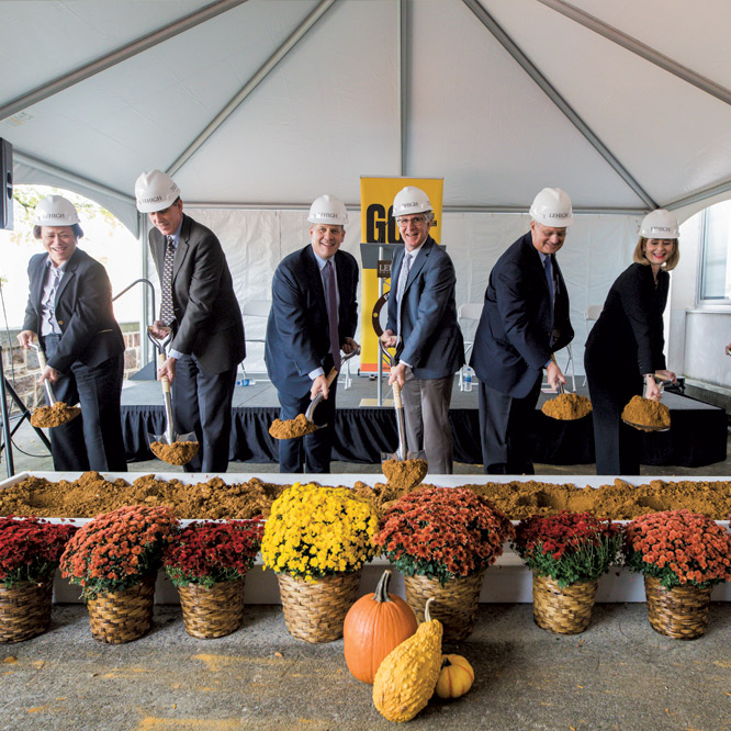 HST Building Groundbreaking