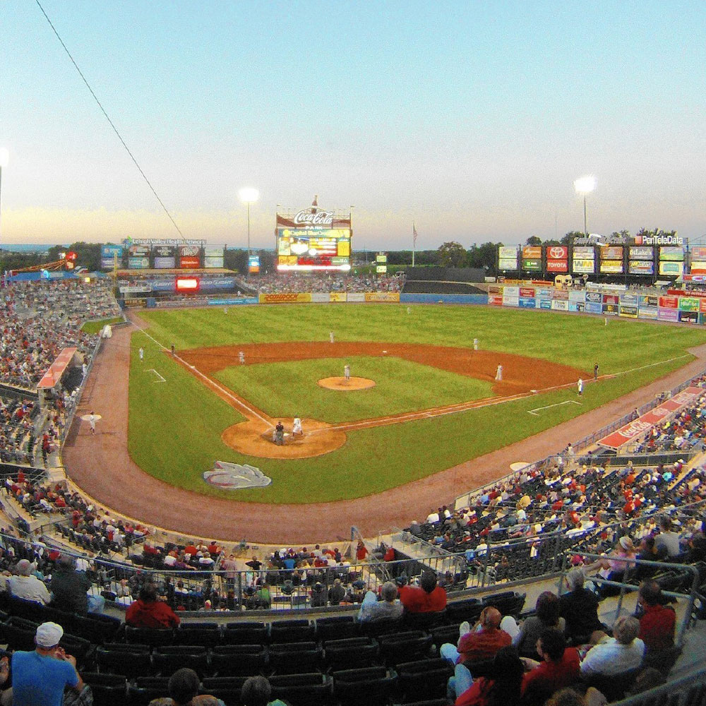 Iron Pigs baseball field