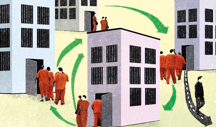 Prison System Graphic