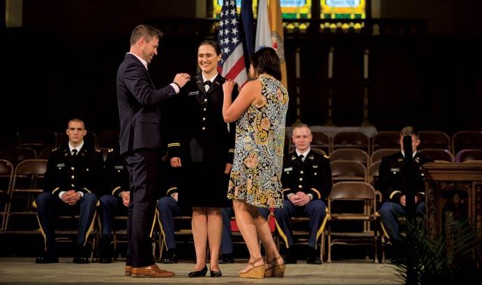 ROTC graduates