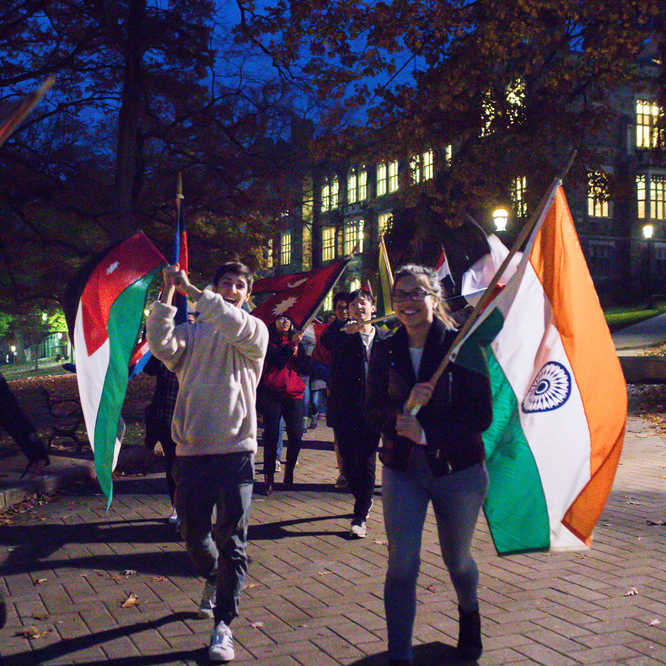 International Week - Flag Parade